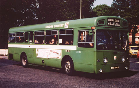 London Country BN33 / Ulsterbus 1893 - Ards Bus