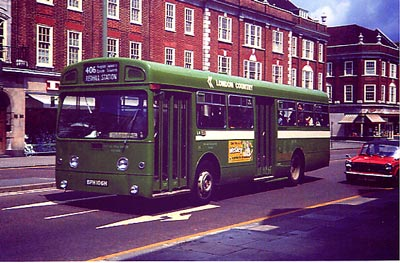 London Country Bus Services Preservation Pages